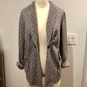 ANTHROPOLOGIE LIKE NEW SWEATER BLAZER